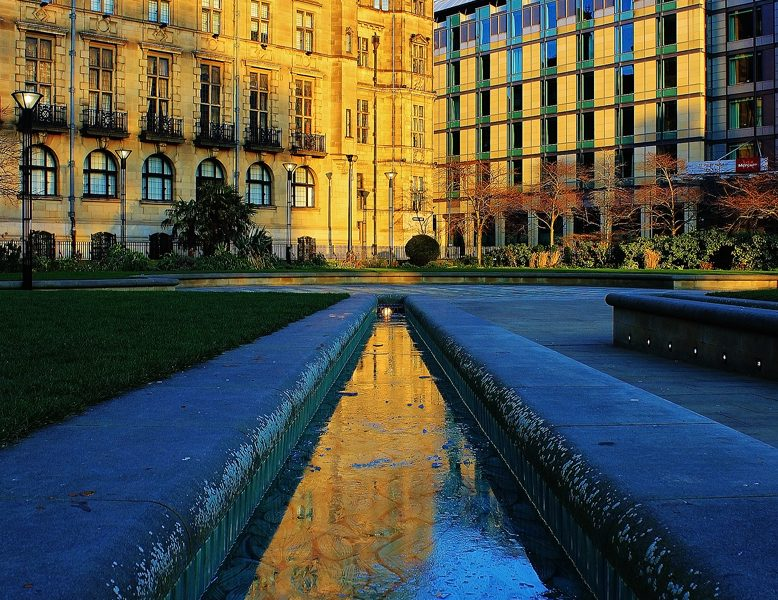 Sheffield Peace Gardens - Sheffield Photography