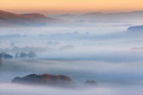 Earl Sterndale Rising Mists