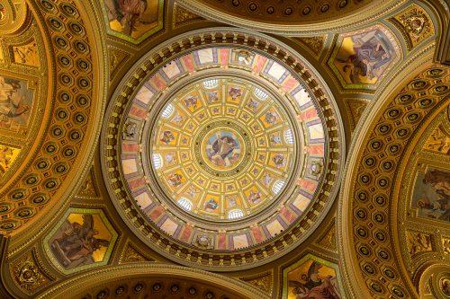 St Stephens Basilica Cupola – Budapest