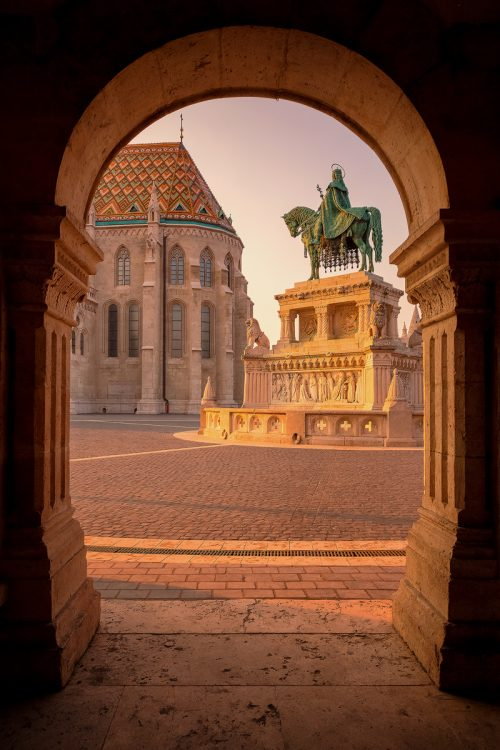 Fisherman's Bastion, Stephen I of Hungary – Budapest