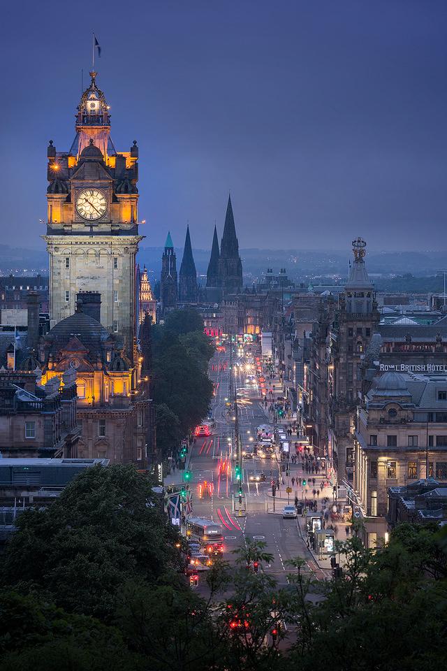 Princess Street, Edinburgh