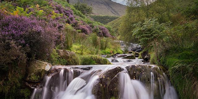 Fairbrook Waterfall - Peak District Photography