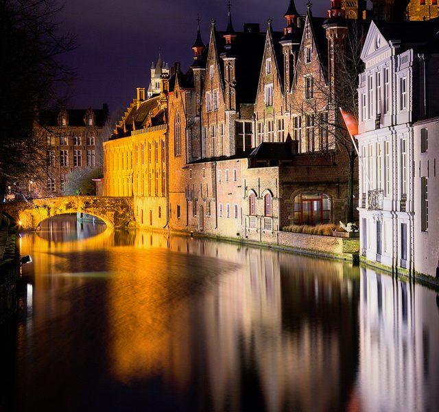 Meestraat Bridge - Brugge Photography