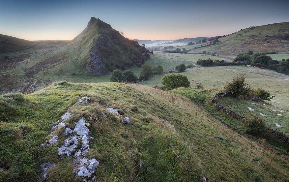 Pre Dawn on Chrome Hill - Peak District Landscape Photography