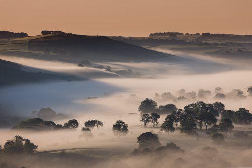 Dove Valley Mist – Peak District Photography