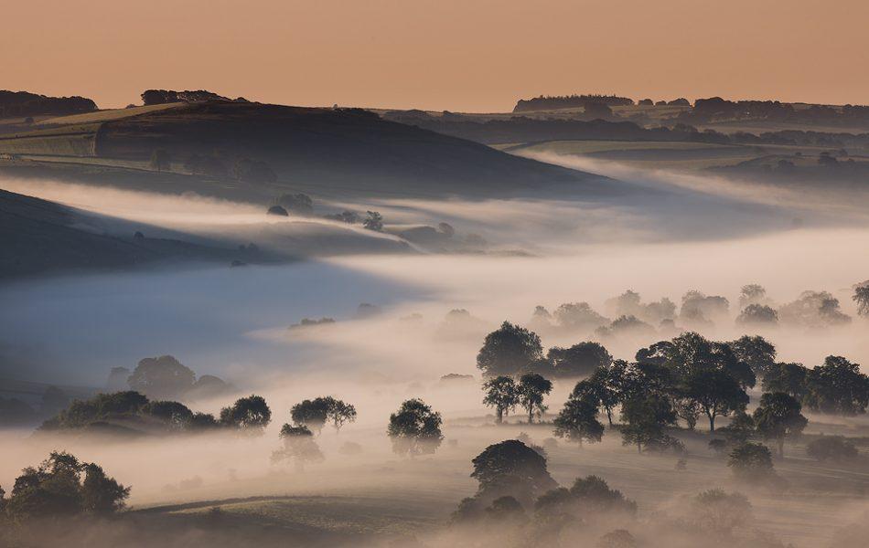 Dove Valley Mist - Peak District Landscape Photography