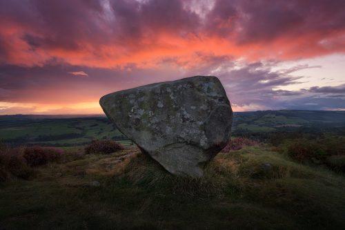 The Anvil Stone, Baslow Edge