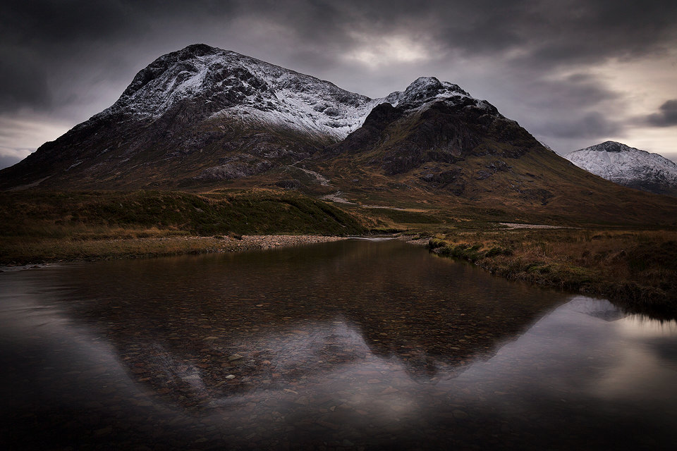 River Etive Reflections