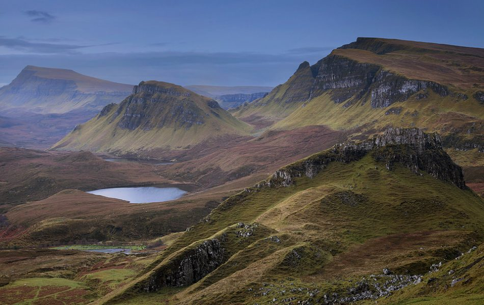 Beyond the Fin, Quiraing, Isle of Skye. UK Landscape Photography