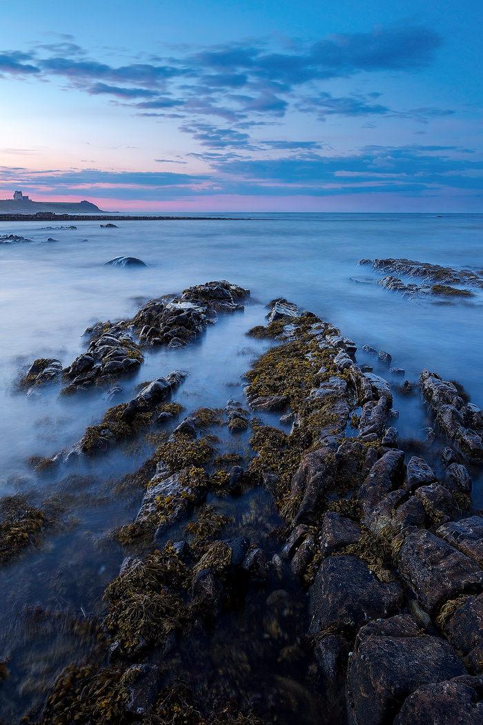 Rockfield Beach looking towards Ballone Castle - Scotland