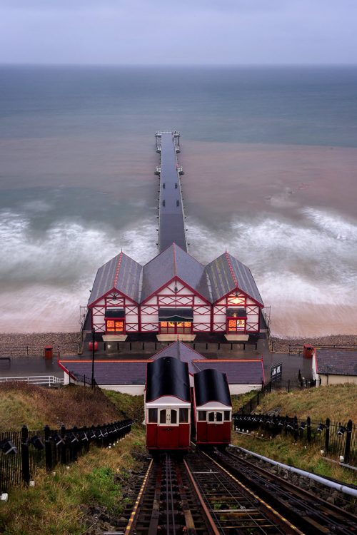 Saltburn Cliff Lift - Yorkshire Coast