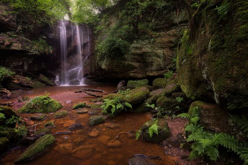 Roughting Linn Waterfall - Northumberland Photography