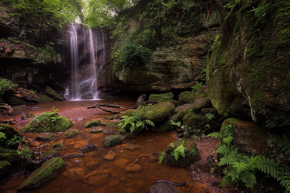 Roughting Linn Waterfall - Northumberland Photography