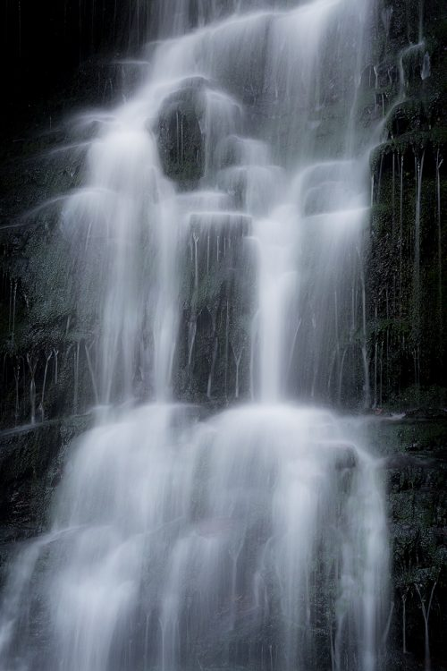Middle Black Clough - Peak District waterfall Photography