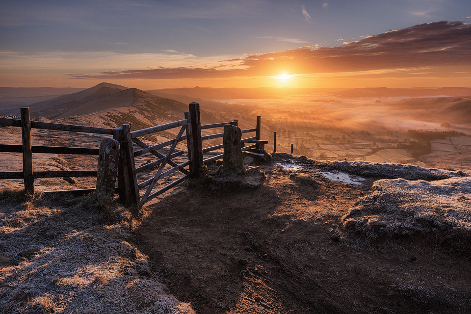 Landscape Photography Workshop - The Great Ridge, Peak District
