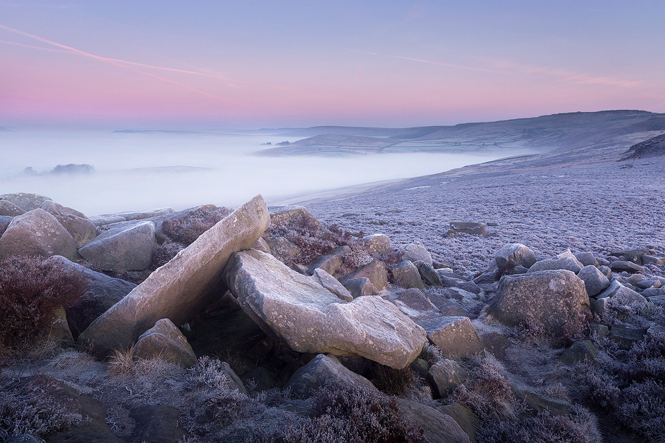 Landscape Photography Workshop - Over Owler Tor, Stanage Edge Peak District