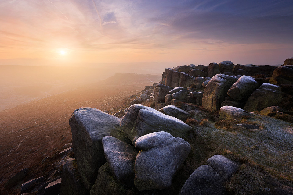 Landscape Photography Workshop - Higger Tor, Carl Wark, Burbage Valley