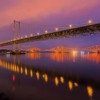Forth Bridges, Firth of Forth, Scotland