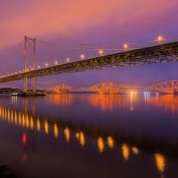 Forth Bridges, Firth of Forth, Scotland