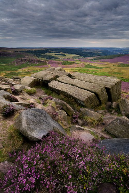 Higger Tor - August at the KitKat Stones