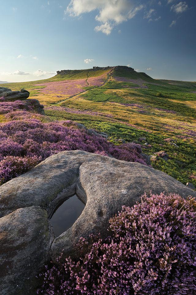 Carl Wark Summer Sky - Peak District Photography