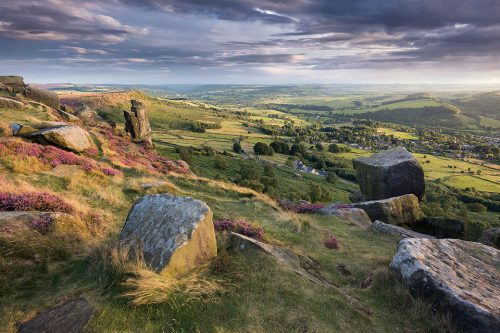 The Pinnacle Stone - Curbar Edge - Peak District Photography