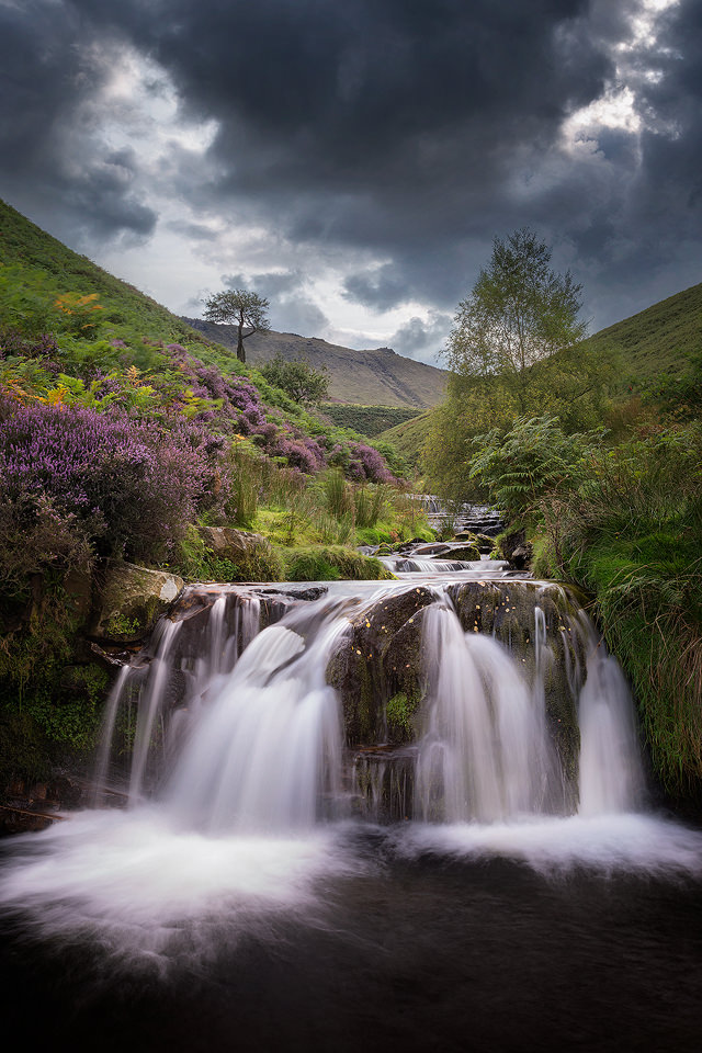 Fairbrook Waterfall - Peak District Photography