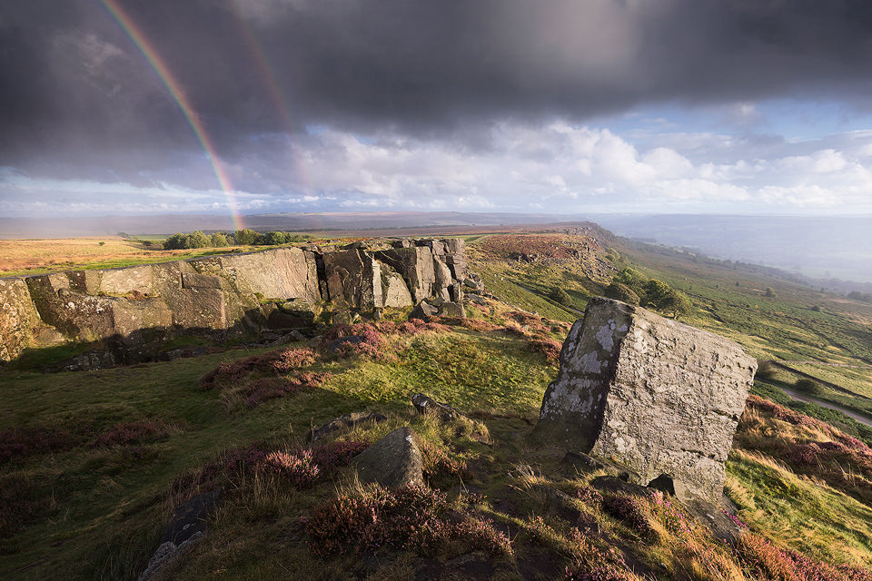 Curbar Storms - Peak District Photography