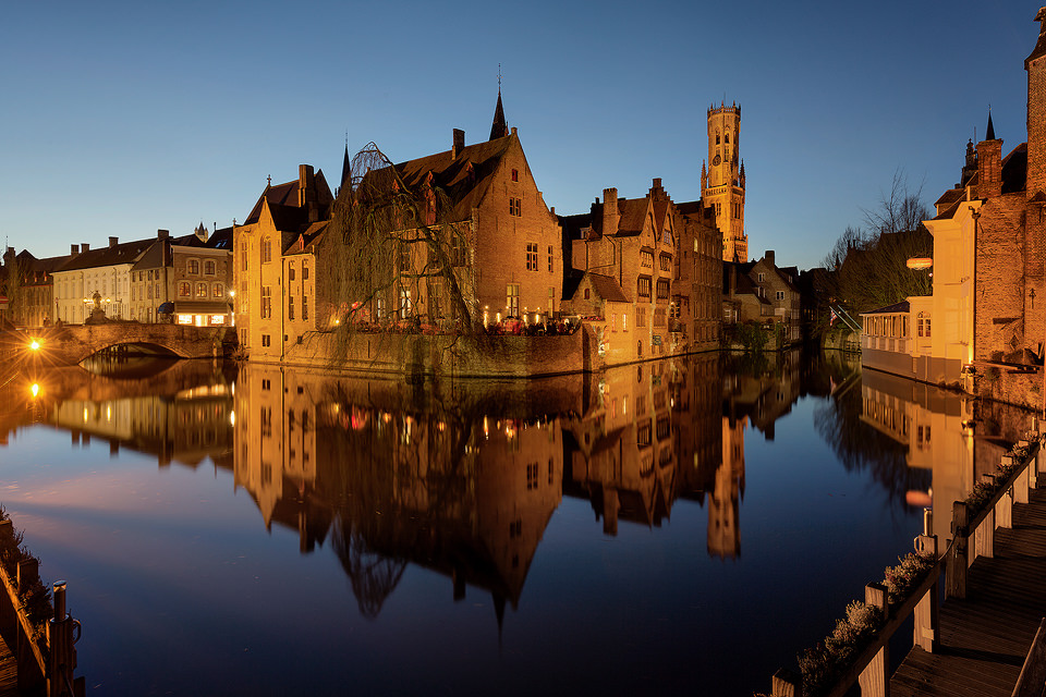 Rozenhoedkaai - Brugge Photography