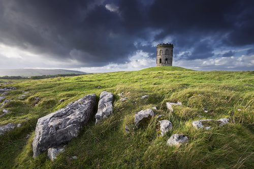 Stormy light at Solomon's Temple - Peak District Landscape Photography