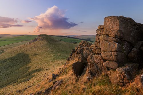Crook Hill Sunset - Peak District Photography