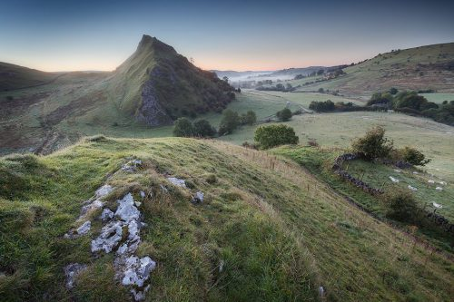 Pre Dawn on Chrome Hill - Peak District Landscape Photography