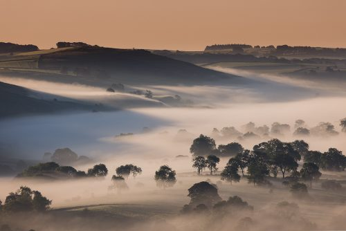 Dove Valley Mist - Peak District Landscape Photography