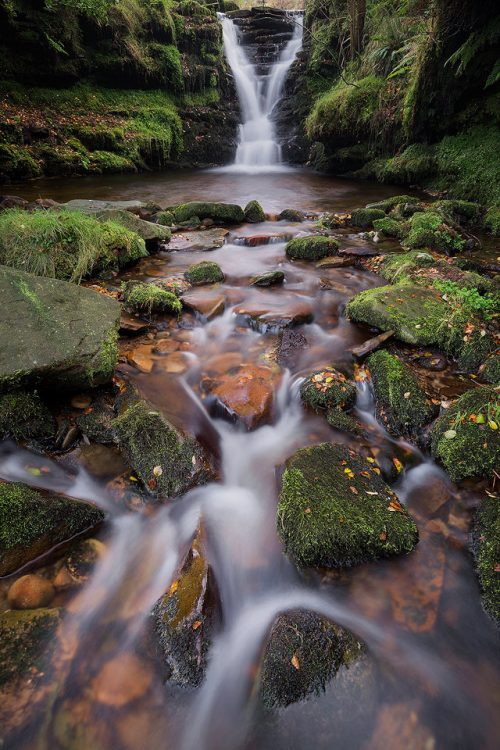Fairbrook Waterfalls - Peak District Photography