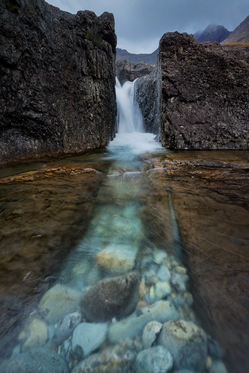 Natural Channel, Fairy Pools, Isle of Skye.