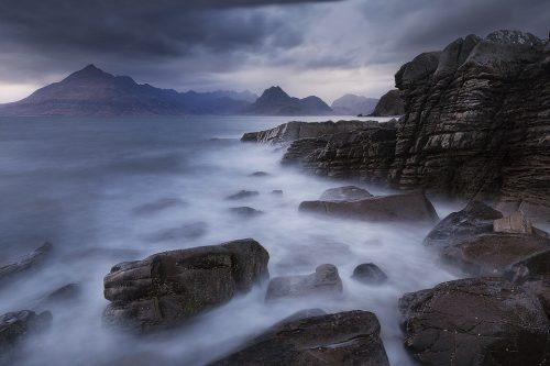Moody skies at Elgol on the Isle of Skye - Scotland landscape photography