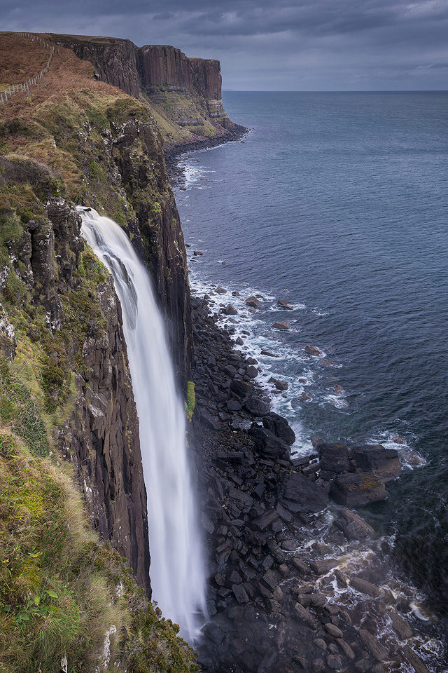 Mealt Falls and Kilt Rock, Isle of Skye. UK Landscape Photography.