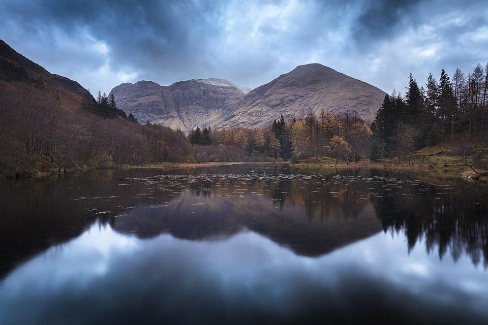 Torren Lochan, Glencoe, Scottish Highlands.