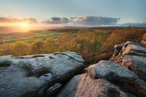 A stunning sunset at Birchen Edge earlier this Autumn. Whilst I would have liked a bit more cloud, the soft pastel tones and burst of warm light through the valley made the visit more than worthwhile.