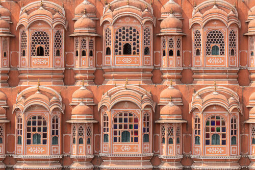 Hawa Mahal - Palace of Winds, Jaipur. Hawa Mahal, directly translated to 'palace of breeze' is beautiful red and pink sandstone palace in, Jaipur, India.