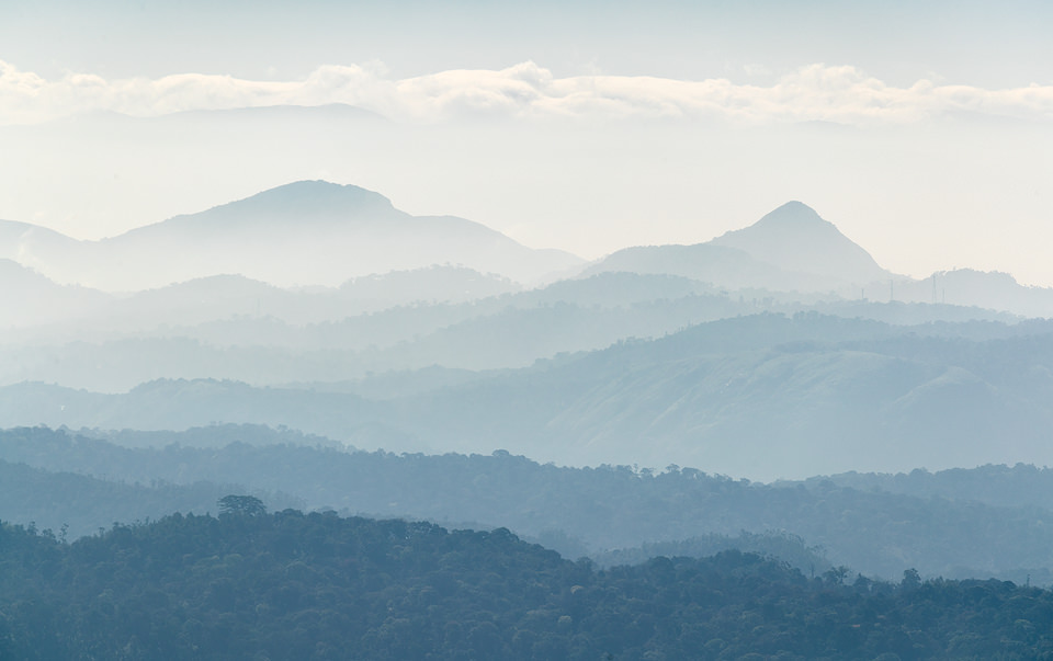 Mountain Layers of the Western Ghats